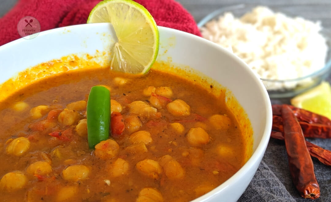 Leckeres indisches Chana Masala Chole