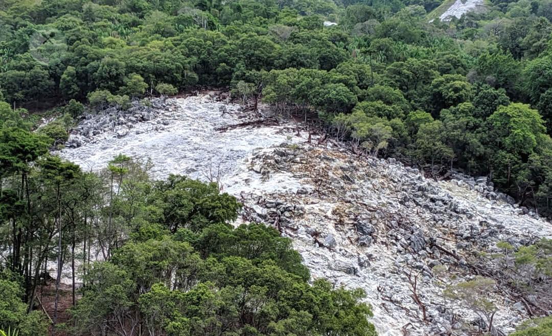 Schwefelfelder des Vulkan Jaboi auf Pulau Weh