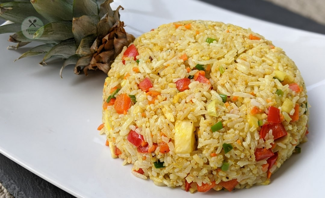 Pineapple Curry Fried Rice aus Food Wars